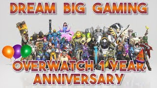 [PC] Overwatch 1 Year Anniversary Event Live!!!