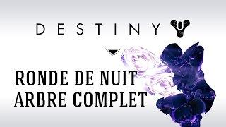 [FR] Destiny Taken King Chasseur Nouvelle Doctrine Ronde de Nuit (Nightstalker) : arbre Complet !