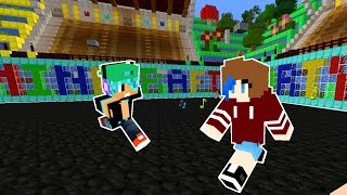 MINECRAFT PARTY MINIGAMES WITH GAMER CHAD | BRAWL SERVER | RADIOJH GAMES