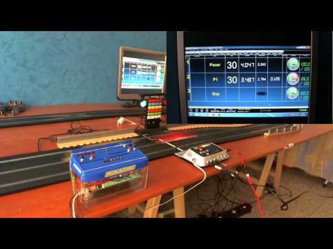 Pc Lap Counter and Scalextric Digital C7042 and Pit Pro