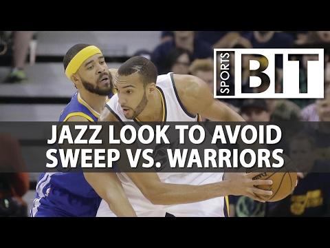 Golden State Warriors at Utah Jazz, Game 4 | Sports BIT | NBA Picks