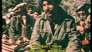 обстрел советского гарнизона
