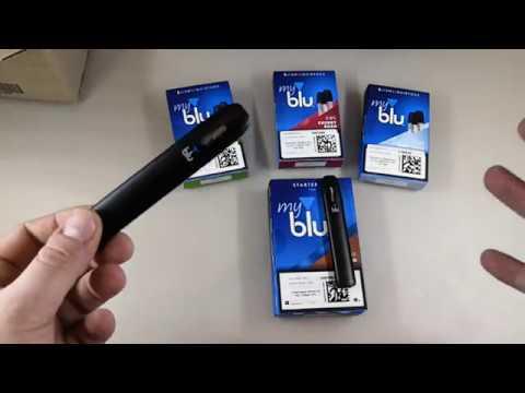Электронная сигарета MyBlu Распаковка | Обзор pod системы