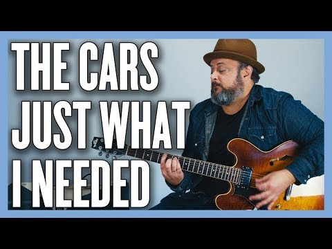 The Cars Just What I Needed Guitar Lesson + Tutorial thumbnail