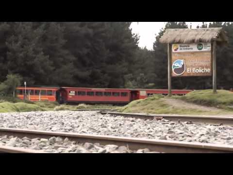 Tren ruta de los Volcanes:   Quito   Machachi   El Boliche