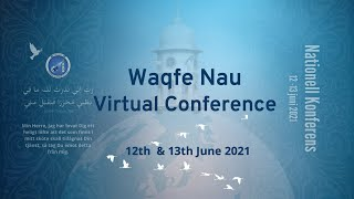 National Conference 2021, Day 1 - Waqf-e-Nau Sweden