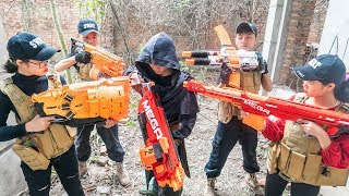 Nerf War: Assassin's Creed Nerf Guns Attack Commandos Force Squad SWAT Destroy Bastion Nerf Movie