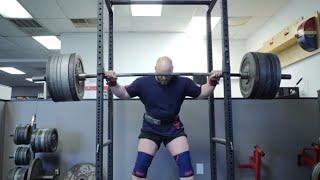 RAW Powerlifting Training Session w/ 2x IPF World Champ Dennis Cornelius | 830lb squat