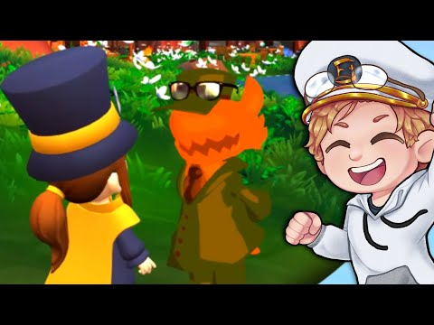 The fan-created After Story「A Hat in Time MODS 🎩🔧 」