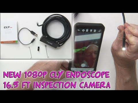 NEW Endoscope Inspection Camera 1080P HD Waterproof Borescope