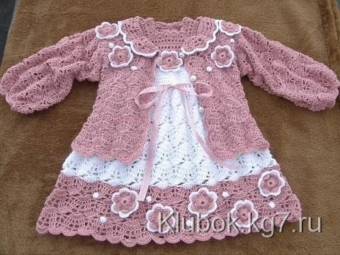 Crochet Patterns For Free Crochet Baby Dress 23 Youtube