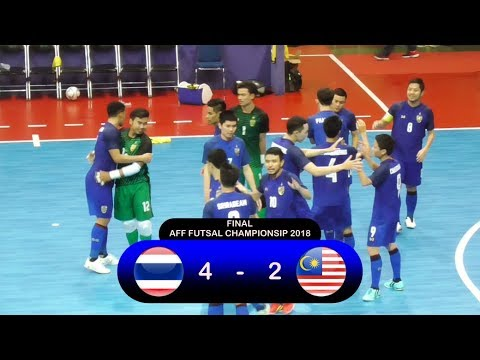 Highlights Thailand Vs Malaysia (4-2) Final AFF Futsal Championship 2018