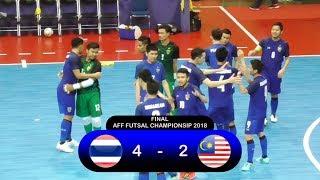 Highlights Thailand Vs Malaysia (4-2) Final AFF Futsal Championship 2018