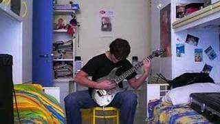 Meshuggah- WAR     By Stevesiriovai (First cover on youtube)