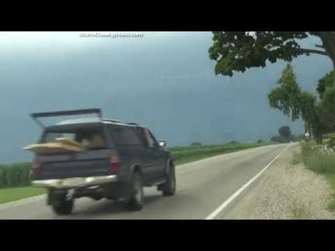Live Illinois/Wisconsin Storm chase