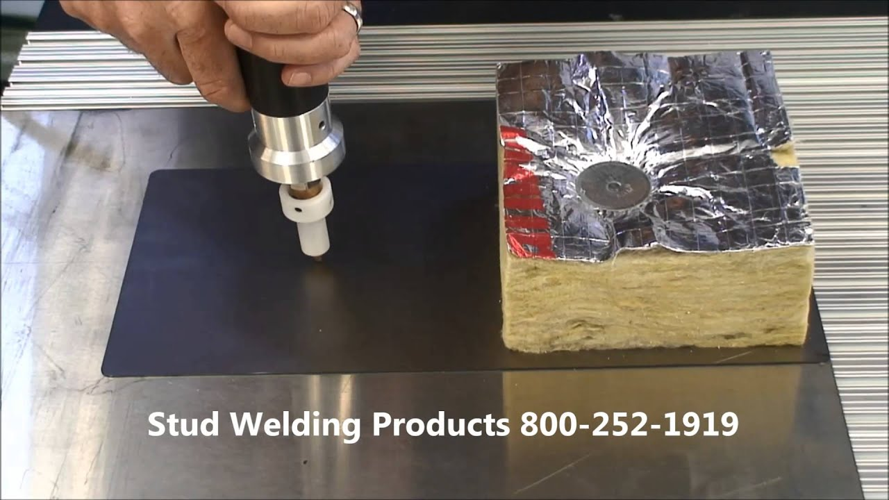 Stud Welding For Insulation Youtube