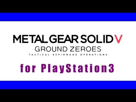 プレミア公開機能 - METAL GEAR SOLID V: GROUND ZEROES