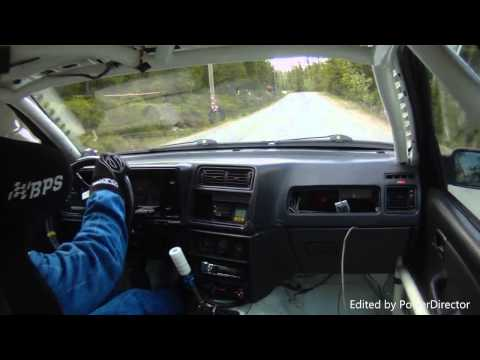 Finnish hillclimb Ford Sierra Cosworth 4x4