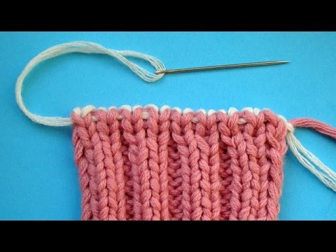 Вязание петли для резинки