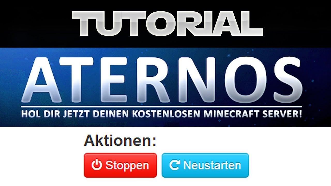 Kostenlose MinecraftServer Bekommen Aternosorg Minecraft - Minecraft server erstellen kostenlos aternos