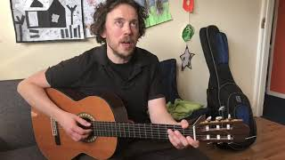 Guitar with Richard Carr - Wicked Game by Chris Isaak Part 1 Beginner Melody