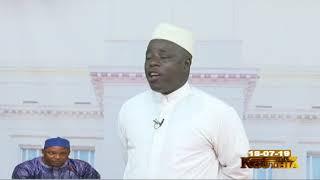 Adama Barrow dans Kouthia Show du 18 Juillet 2019