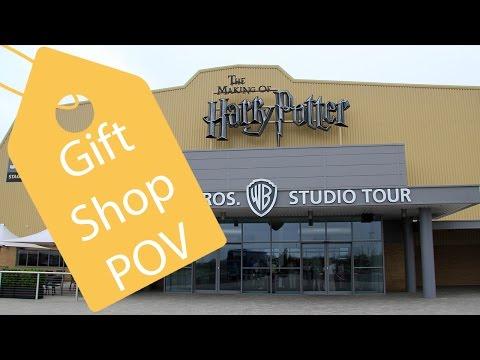 Harry Potter Studio Tour London Gift Shop POV