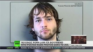"""Revenge porn"" law sends first man to jail"