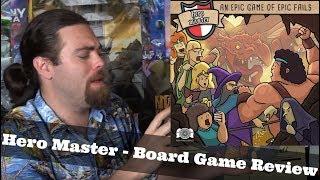 Hero Master - Kickstarter - Board Game Review