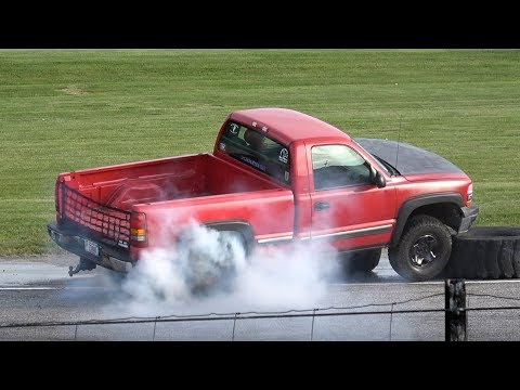 Pickup Truck Spectator Drags @Beech Ridge #1 May 2017