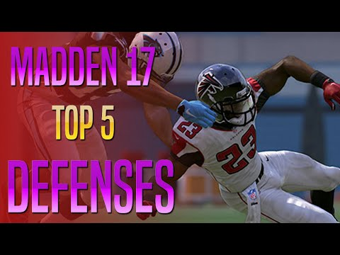 Madden 17 - Top 5 Defensive Teams To Win Games