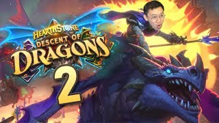 Descent of Dragons Review #2 STRONGEST SET EVER?! | Hearthstone