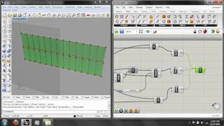 Grasshopper Lab 4: Data Structures, Truss & Twisted Strip Surface