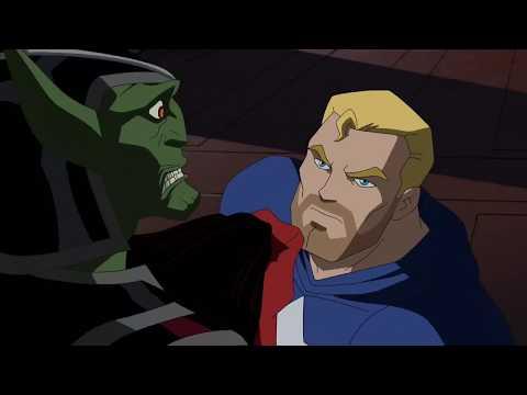 Skrull Avengers save Captain America