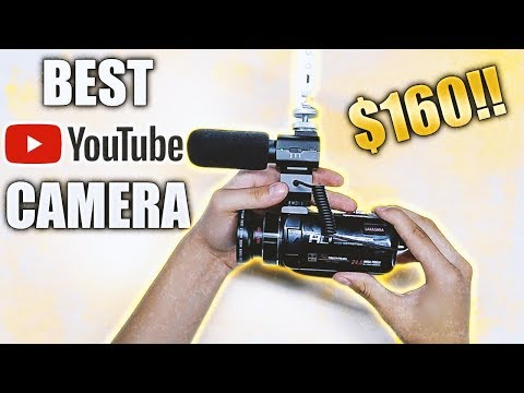 BEST AFFORDABLE YOUTUBE CAMCORDER!! (Camera, Lens, Microphone)