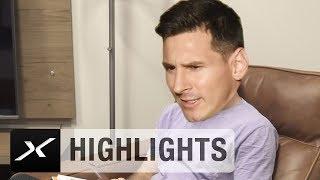 Lionel Messi der Trick Shot-König | Highlights | SPOX Social