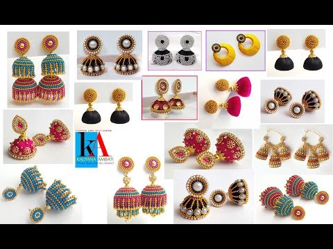 My over all Top 10 Latest jhumkas collection