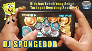 DJ Spongebob Versi Gagak (Real Drum Cover)
