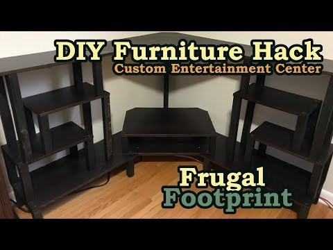 DIY Furniture Hack - Custom Entertainment Center Build