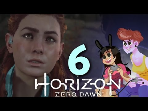 HORIZON ZERO DAWN - 2 GIRLS 1 LET'S PLAY GAMEPLAY PART 6: rude