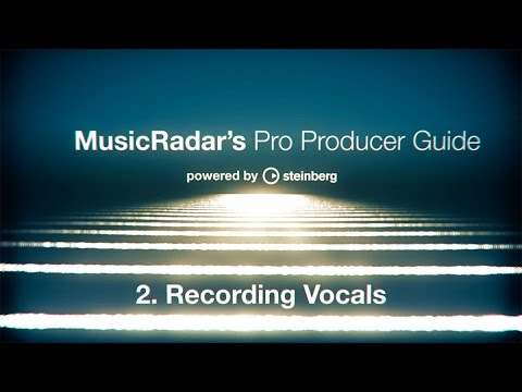 Pro producer guide, part 2: recording vocals