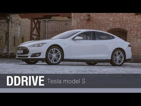 Tesla Model S - тест-драйв автомобиля от Veddro.com