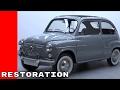 Classic 1965 SEAT 600 Convertible Full Restoration