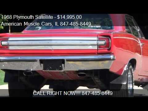1968 Plymouth Satellite BIG BLOCK MOPAR POWER-SEE VIDEO-AFFO