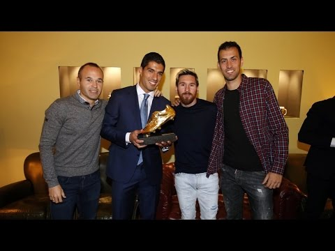 BEHIND THE SCENES - Luis Suárez Golden Shoe ceremony (2016)