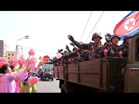Military Parade, Public Procession Mark 105th Birth Anniversary of Kim Il Sung