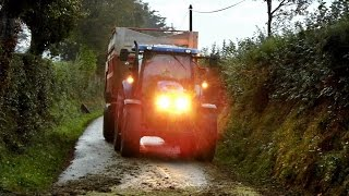Claas Jaguar 870 At Work ! Ensilage mais 2014 .