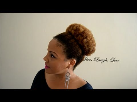 Peinados Para Cabello Afro Corto Mujer Hermosos Peinados