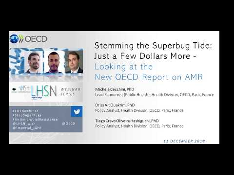 Stemming the Superbug Tide: Just a Few Dollars More - Looking at the New OECD Report on AMR