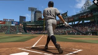 MLB The Show 18 - Boston Red Sox vs New York Yankees - Gameplay (PS4 HD) [1080p60FPS]